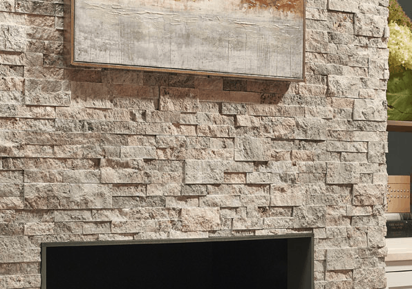 Panels Fireplace Feature