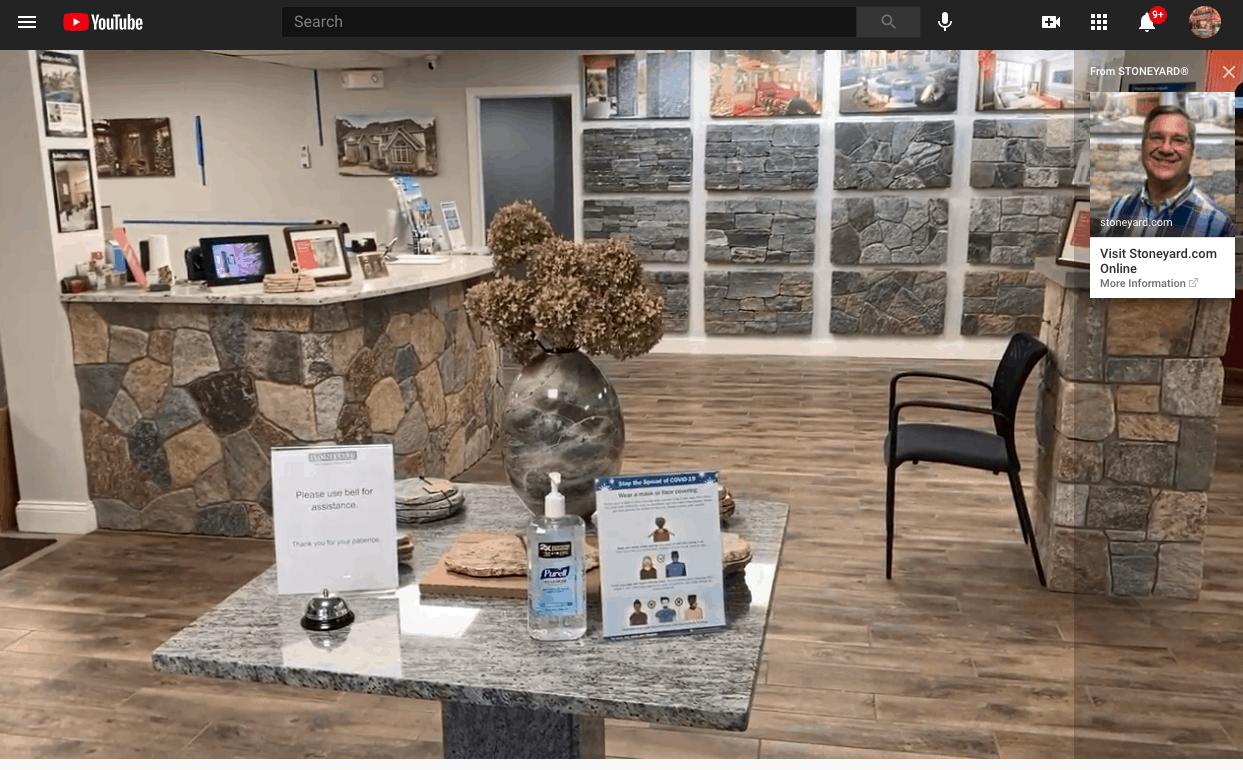 Stoneyard Showroom