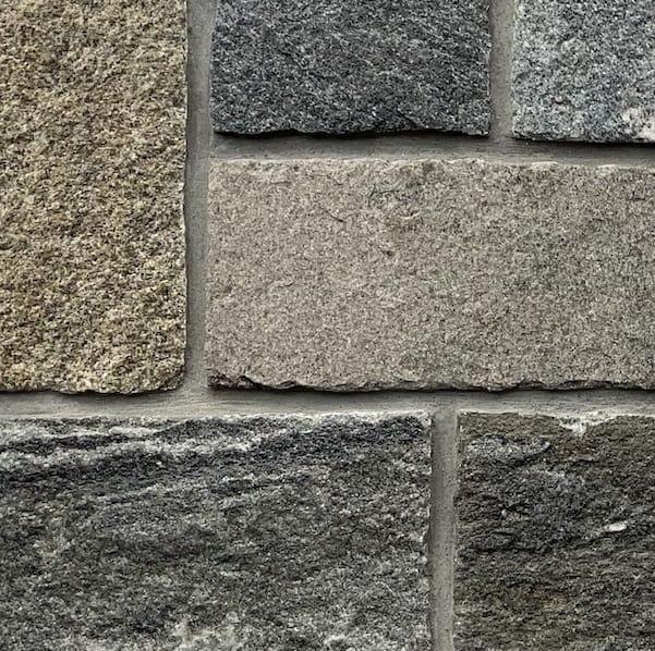 Stoneyard Cambridge Blend Sq Rectangular Sample Board Thin Stone Veneer