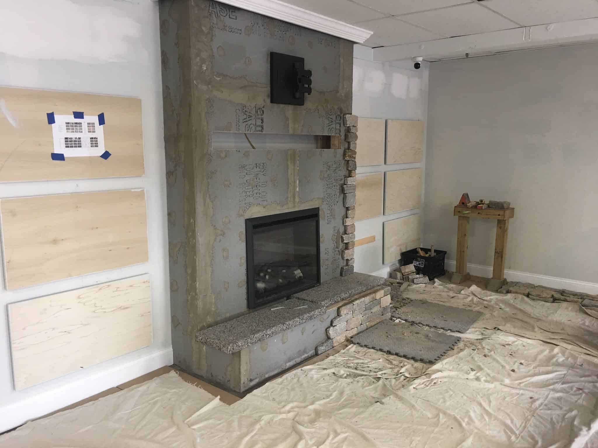 How To Add Thin Veneer To A Fireplace Stoneyard