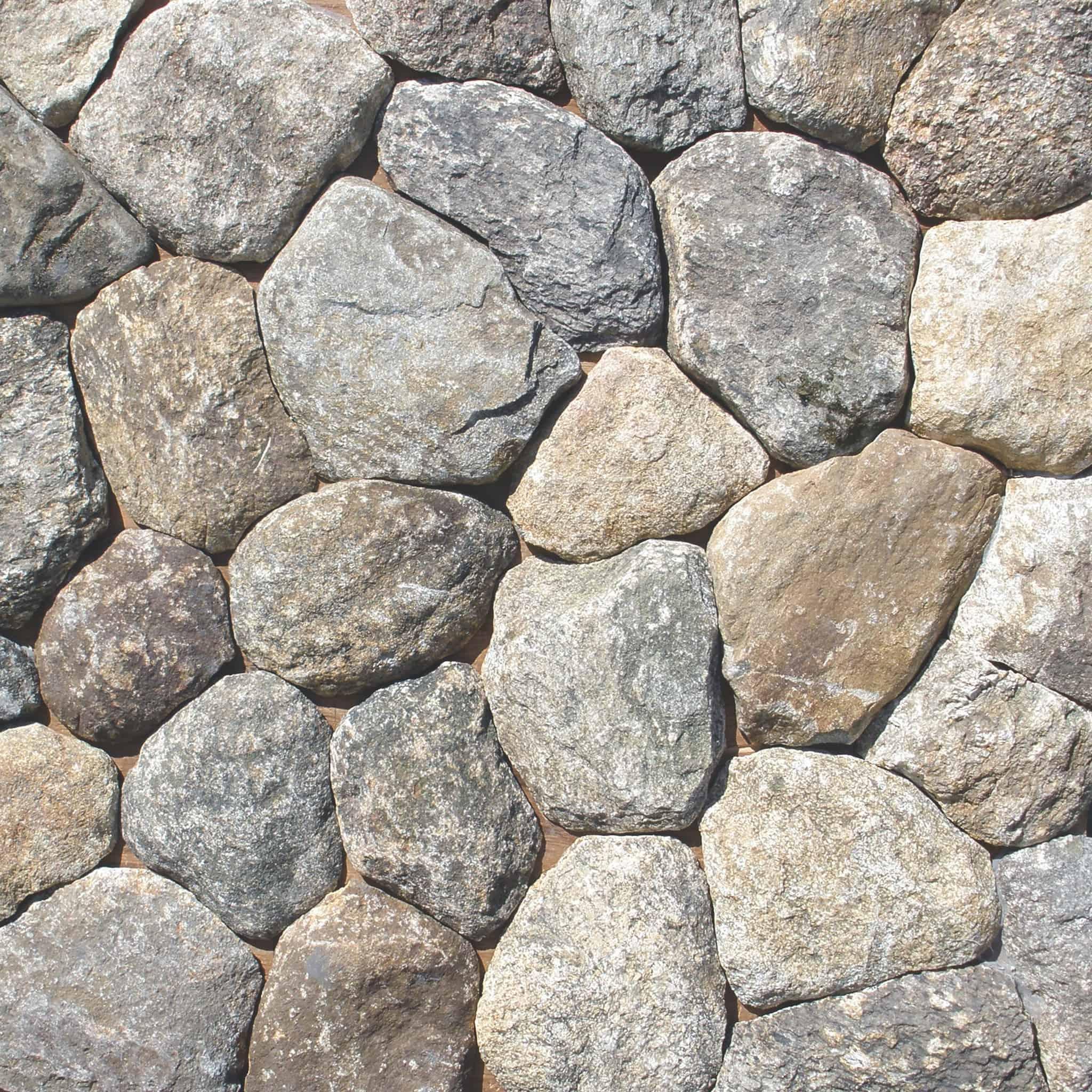 Stone Thin Natural Veneer: Boston Blend Round