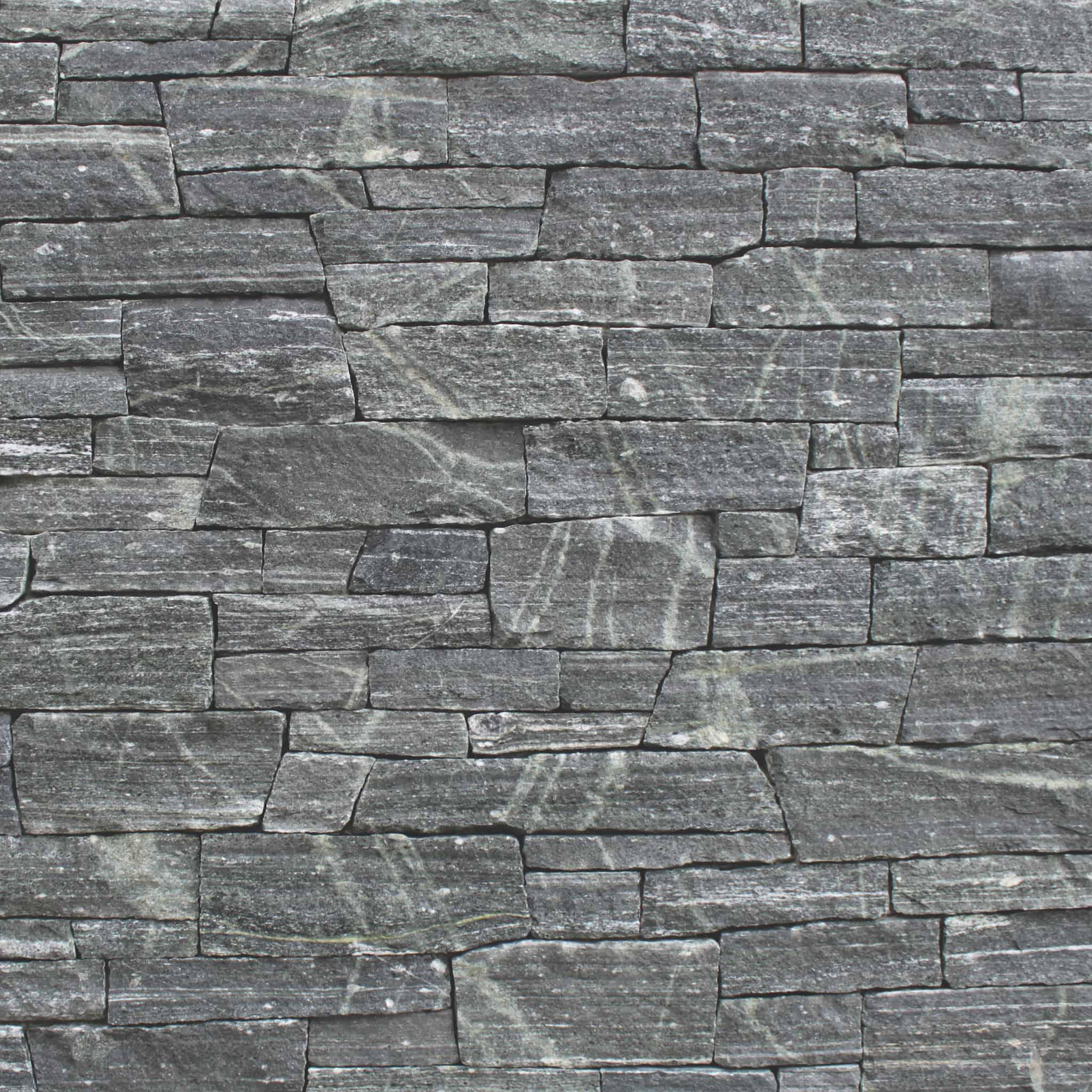Stone Thin Natural Veneer: Greenwich Gray Ledge Thin Veneer