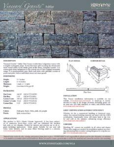 Vineyard Granite Ashlar Stoneyard 174